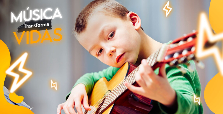 Música transforma vidas