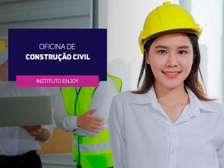 Instituto Enjoy Capacita Jovens para Trabalhar na Construção Civil