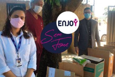 Rede Enjoy lança campanha solidária para arrecadação de alimentos